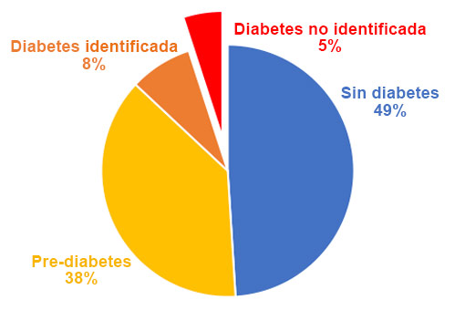 Mil Familias | Diagrama de la tasa de diabetes en Santa Barbara